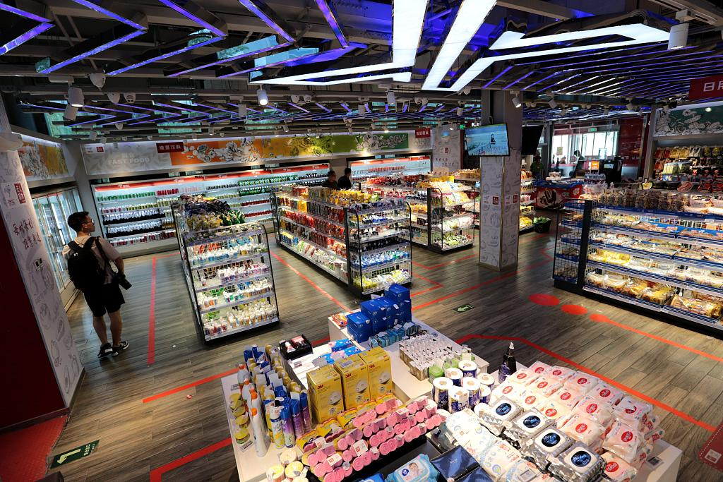 白浪哥商务部预计上半年社零增速有望达8.2%