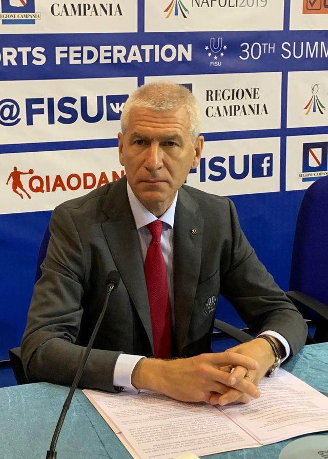 国际大体联主席奥列格·马迪钦:大运会不仅是体育盛会更是文化盛会