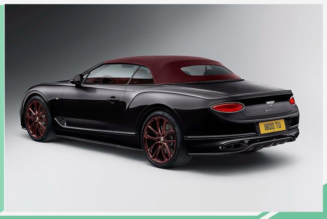 宾利全新欧陆GT敞篷推特别版车型 全球限量100台