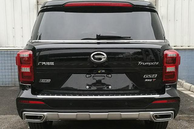 动力暴增 广汽传祺GS8高性能车型上市 售18.58万