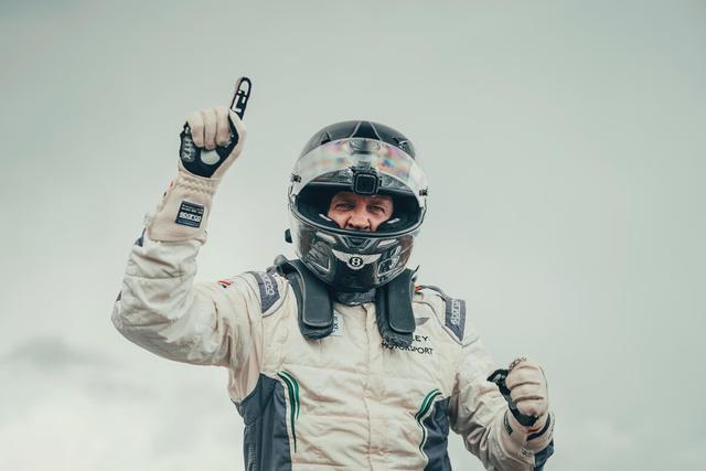宾利欧陆GT刷新2019年派克峰爬山赛最快记录