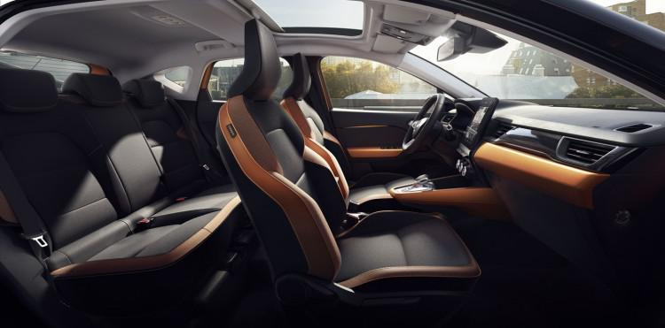搭载奔驰1.3T发动机 全新雷诺卡缤官图发布