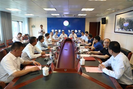 中兴通讯董事长率队到访贵州茅台 谈了5G合作