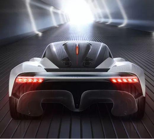 阿斯顿·马丁公布新超级跑车的名称和LOGO