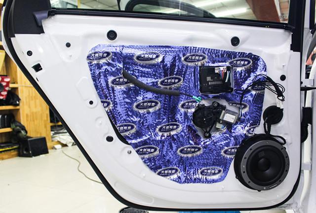 内外兼备的移动伴侣,奥迪A4L汽车音响改装过程分享