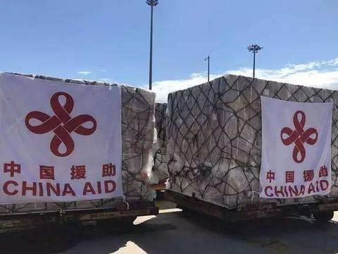 一艘东方巨轮抵达中东,运抵首批援助物资
