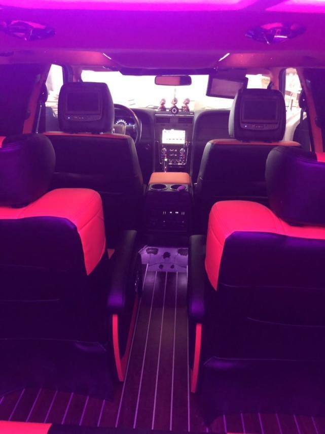 林肯领航员专用航空座椅定制,超大车身舒适内饰带来全新体验