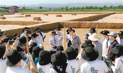 我省35位青年创业者走进澄城刘家洼遗址 体验真正的考古