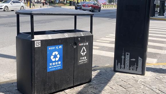 """来上海旅游先学垃圾分类?看游客如何攻克""""上海卷"""""""