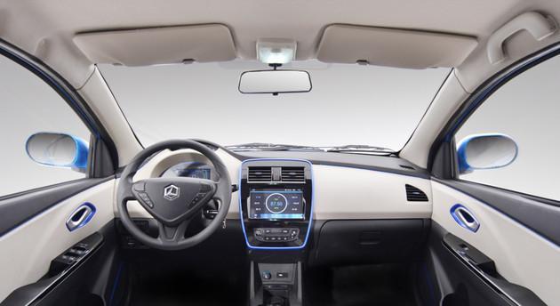 雷丁汽车发布i5官图 定位微型三厢纯电轿车
