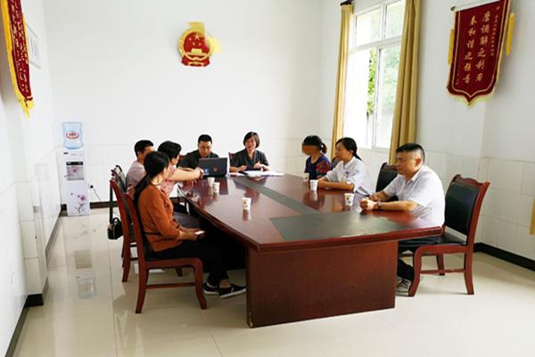 四川省荣县法院双石法庭快速成功调解一起涉聋哑人离婚案件