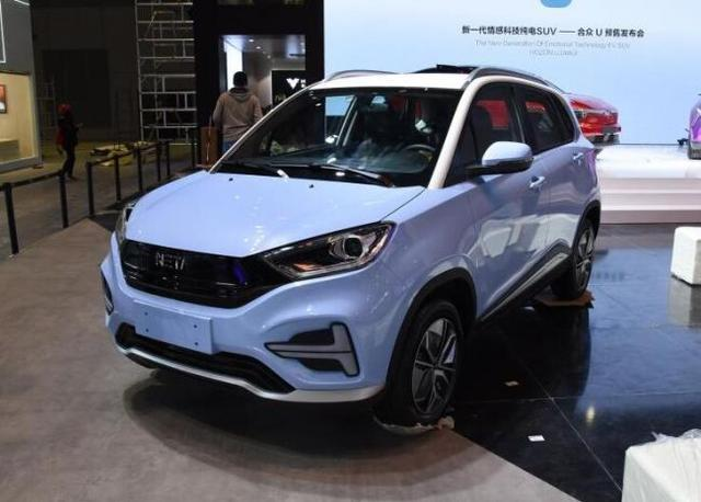 合众首款量产车型哪吒N01将于8月上市 续航里程301km