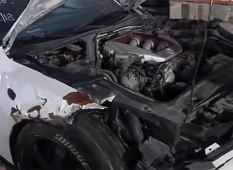 """最""""便宜""""的GTR事故车现迪拜,2.7秒破百,起拍价为5万"""