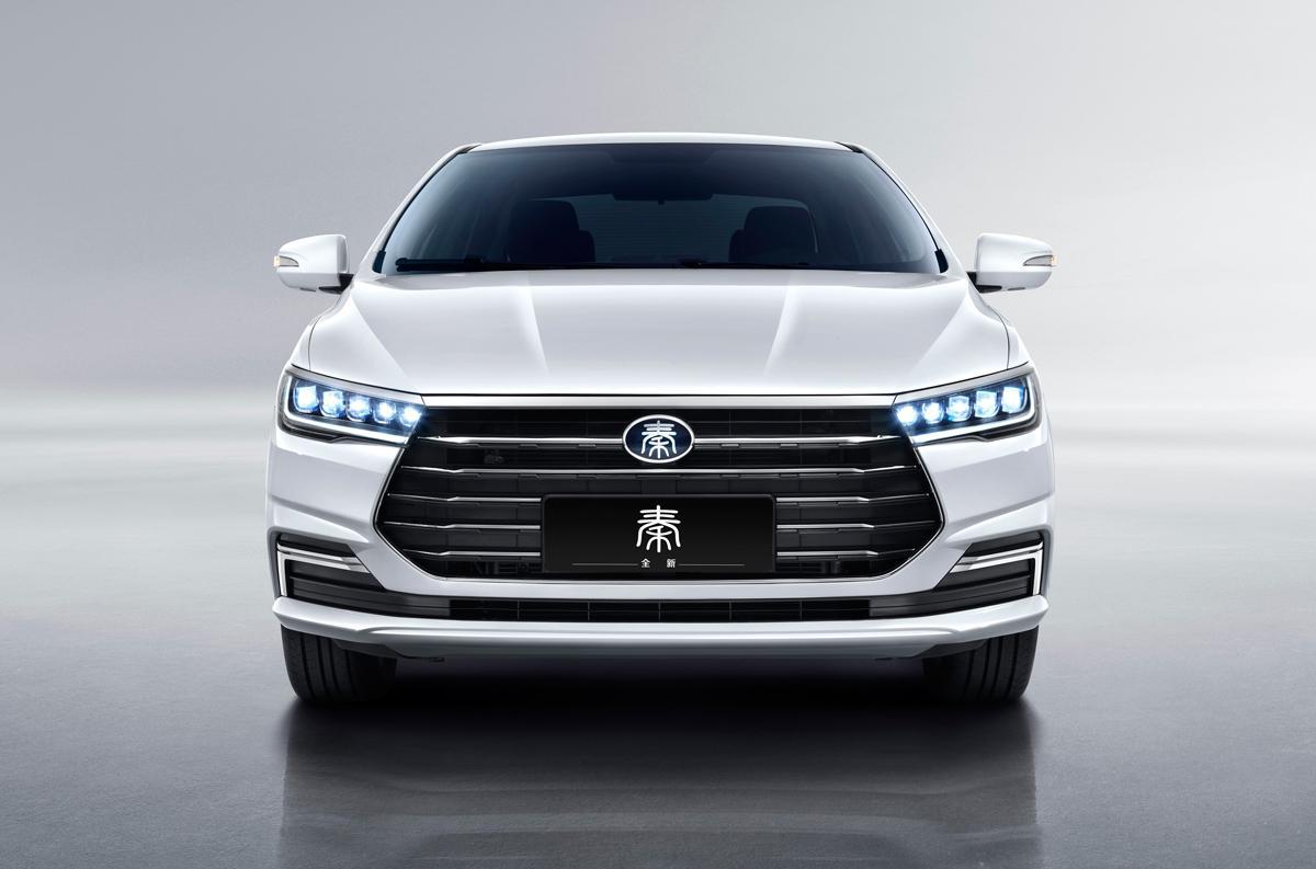 比亚迪全新秦燃油版官图曝光 外观延续EV版设计思路