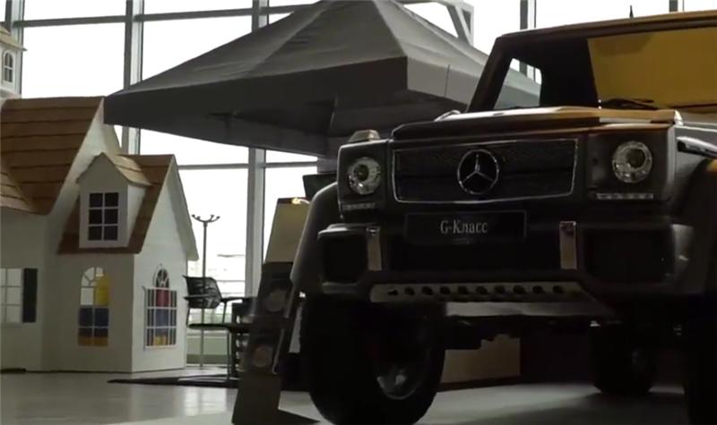 落地价1850万的迈巴赫G650,限量99台,配V12引擎,后排可敞篷