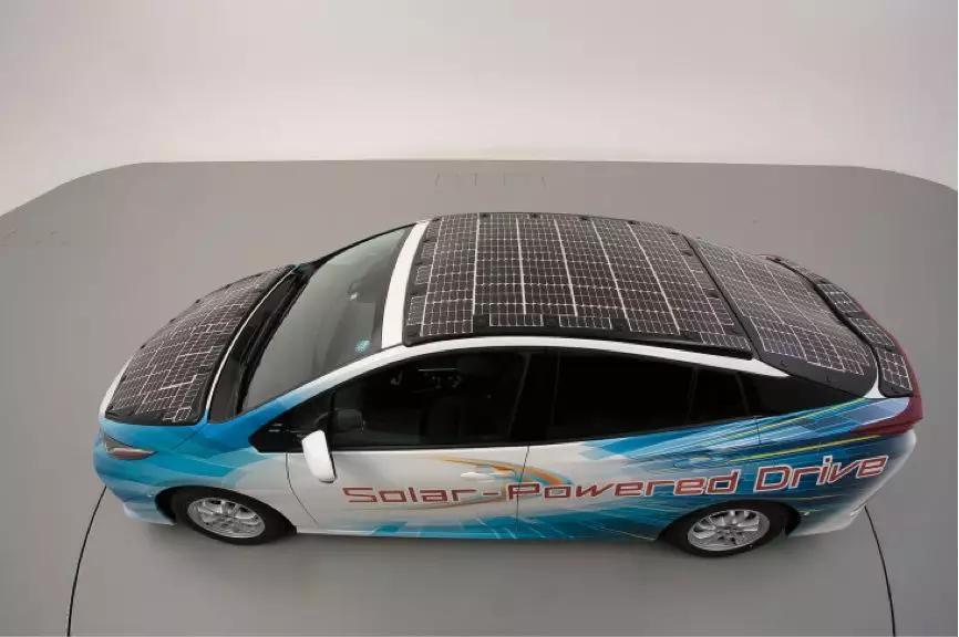 又是丰田!太阳能汽车有大突破