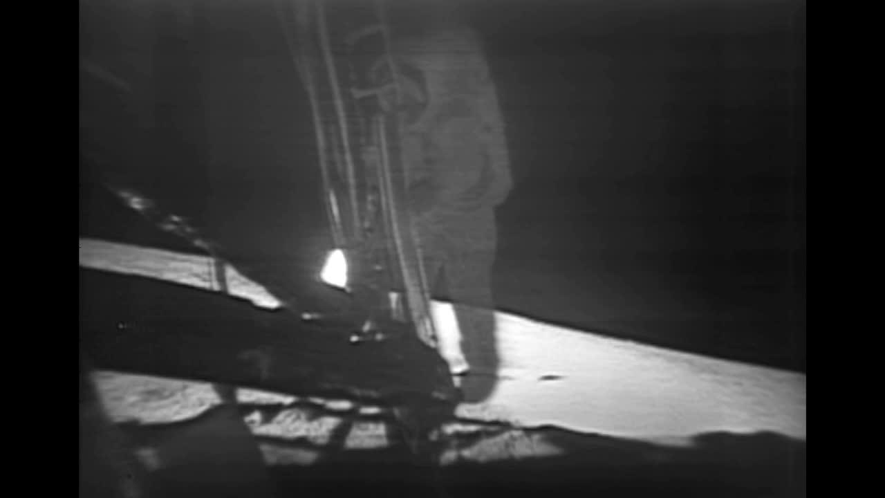 阿波罗11号宇航员月球漫步
