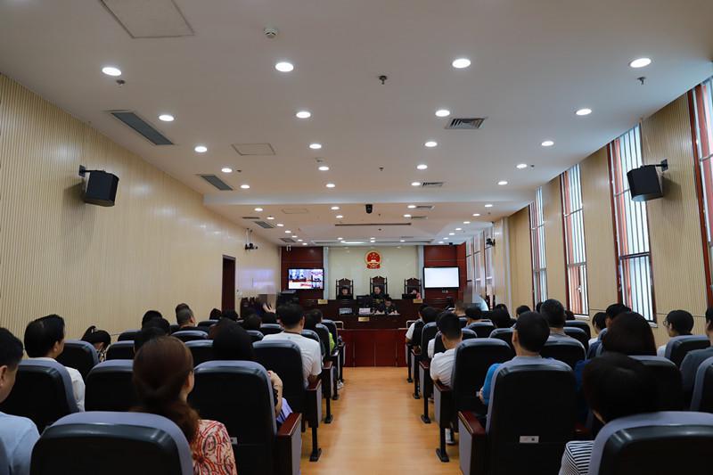 河东法院公开审理案件 邀请人民调解员旁听