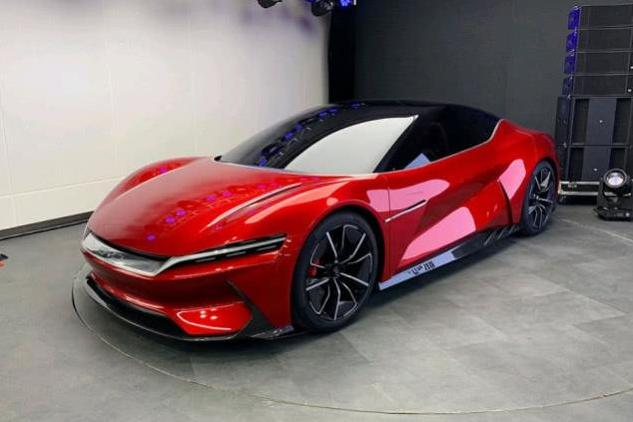 比亚迪双门电动跑车,LOGO全新升级,向奥迪R8看齐?