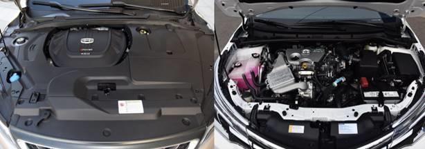 都是十万级热门家轿,帝豪GL智享版配置秒杀丰田卡罗拉!