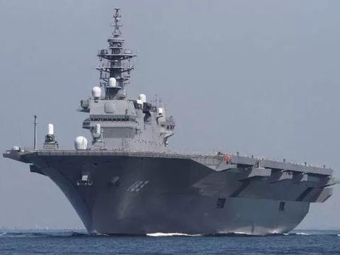 """美媒:日本改装""""出云""""号直升机航母"""