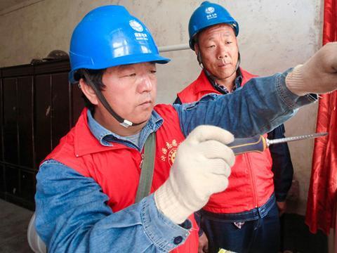 国网馆陶县供电公司关注留守家庭用电安全
