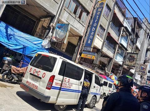 菲律宾马尼拉中国城附近发生银行抢劫案 市长悬赏缉凶