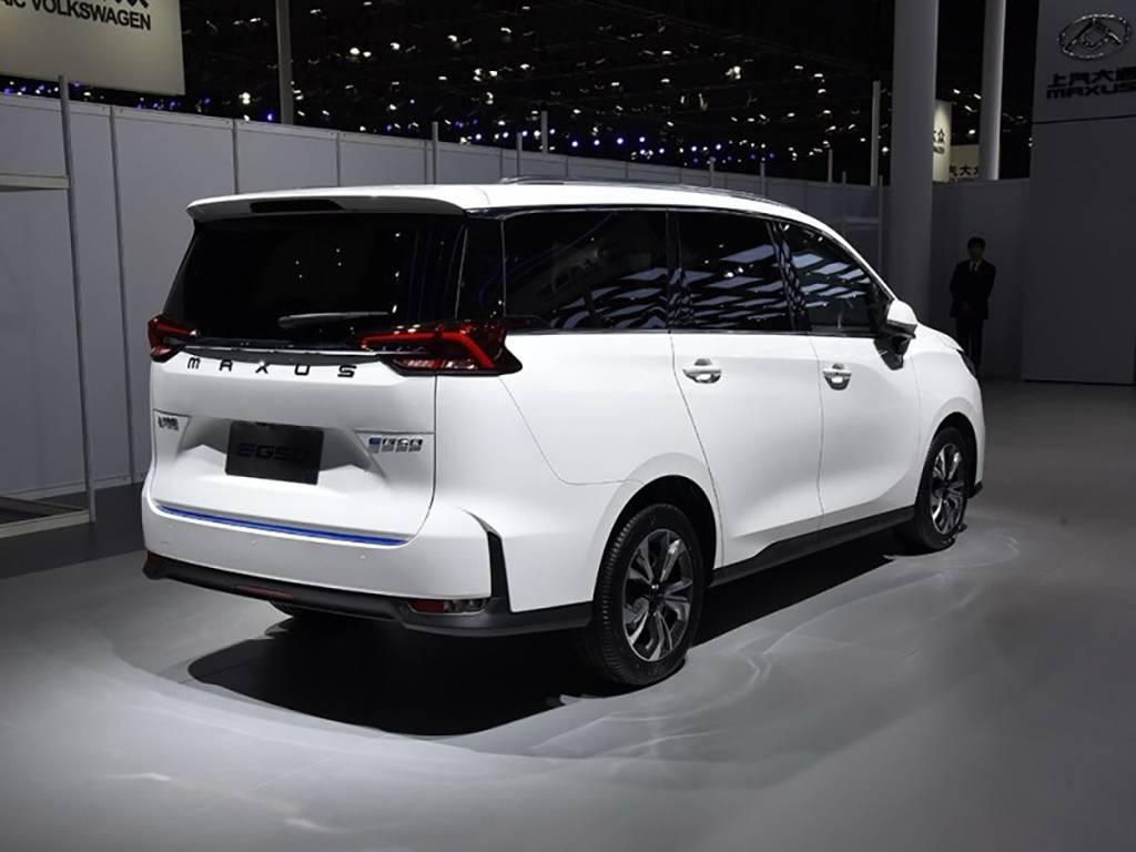 上汽大通EG50上市,纯电动MPV,补贴后16.98万起