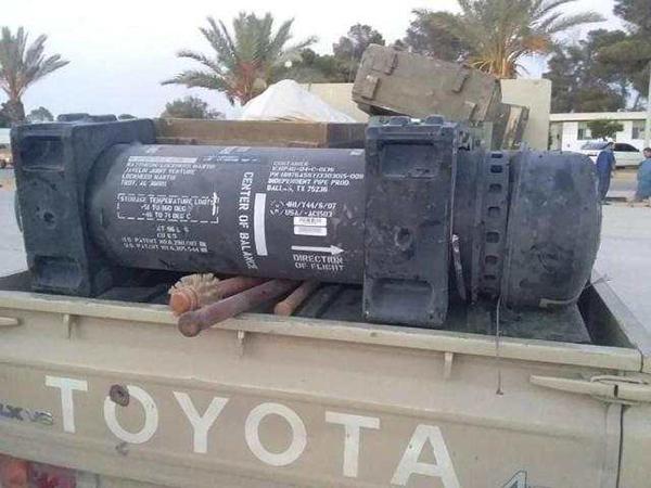法国防部承认导弹出现在利比亚反政府武装营地