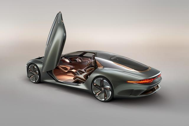 百年宾利推出EXP 100 GT概念车,剑指2035年