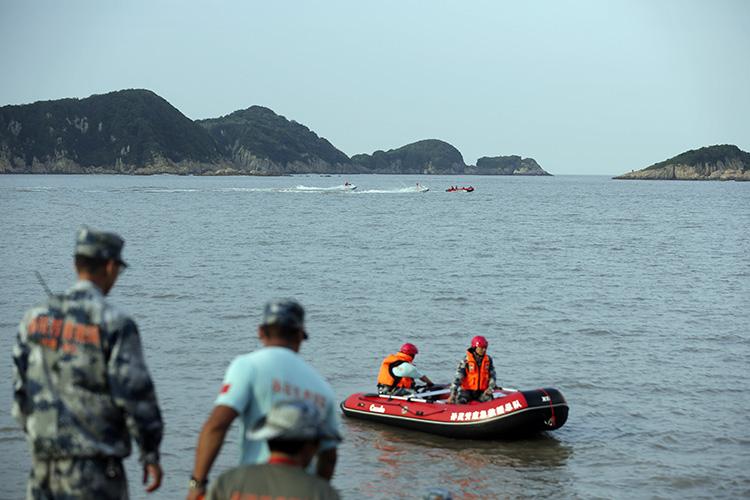 杭州失聯女童又一日海上搜救無果 |組圖