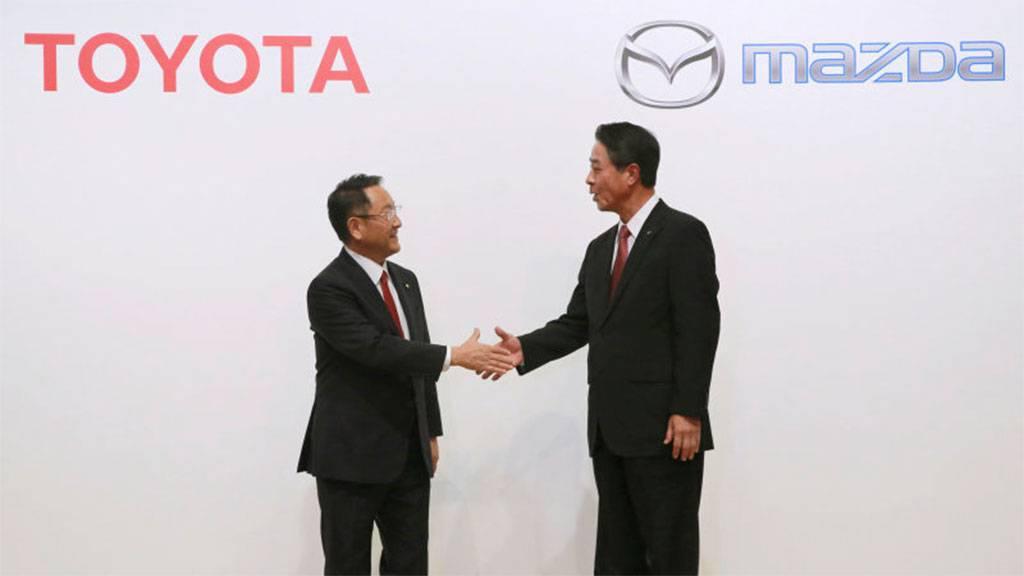 丰田与马自达在美成立合资公司,合作生产全新SUV