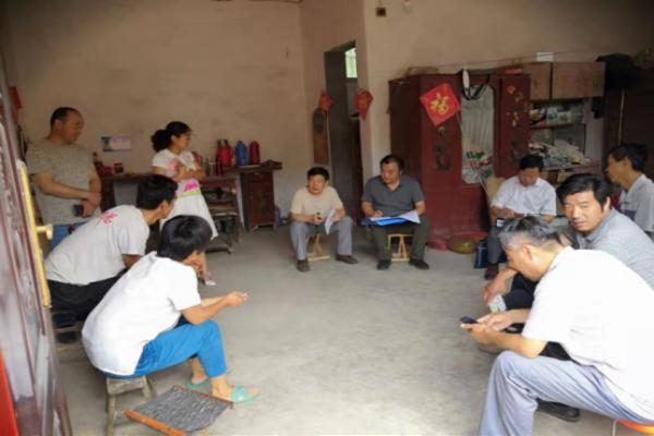 九三学社郑州师范学院委员会、濮阳市委会赴范县开展脱贫攻坚民主监督调研活动