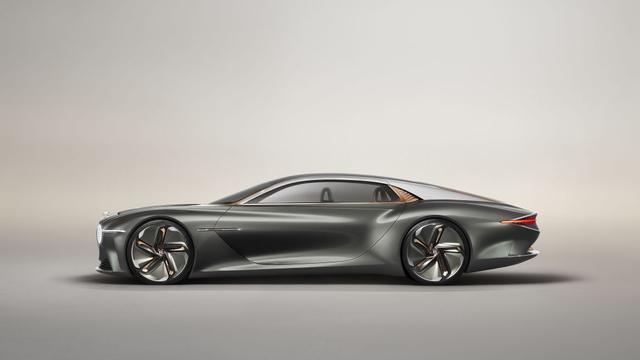 赶超氢动力!最大续航700km,宾利EXP 100 GT纯电概念车即将亮相