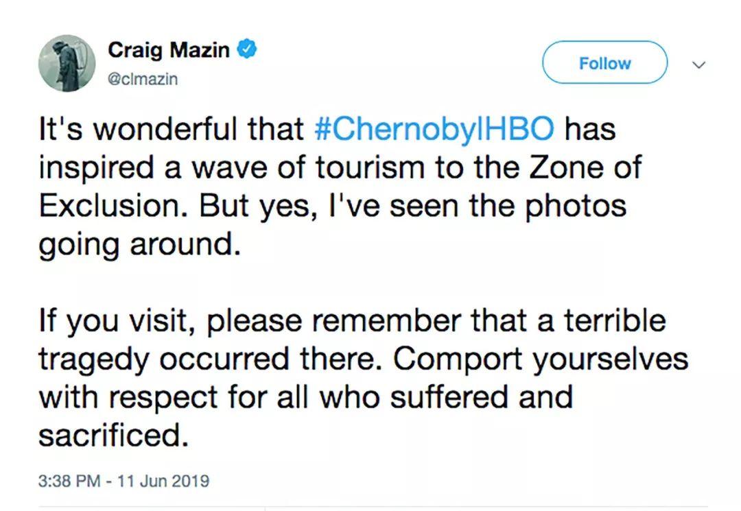 Craig Mazin推特发文