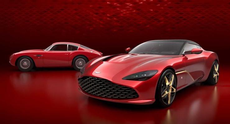 12缸/752马力/900牛·米 阿斯顿马丁发布DBS GT Zagato车型官图