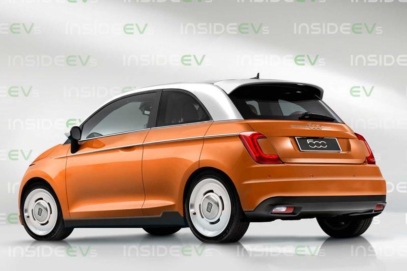 有望2020年日内瓦车展首发 全新菲亚特500电动版渲染图曝光
