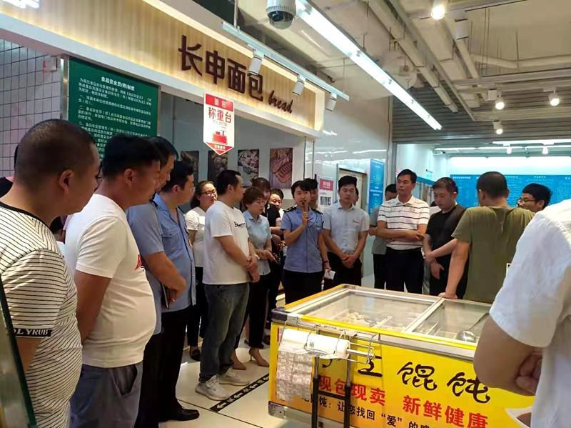 郑东新区食药监局观摩学习找差距 提升管理保食安