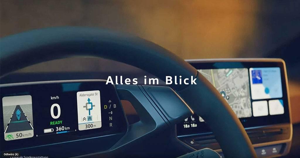 大众ID.3发布预告视频,部分内饰曝光,或9月亮相法兰克福车展