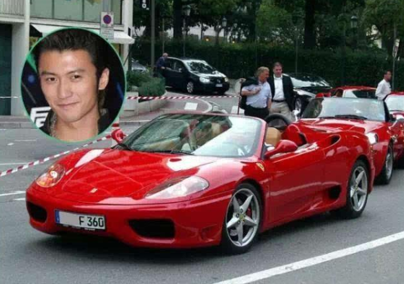 谢霆锋拿3亿向张柏芝换儿子,网友:不仅开豪车还有钱!