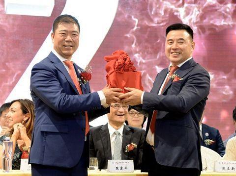 米兰华侨华人工商会换届 浙江统战部长提四点希望