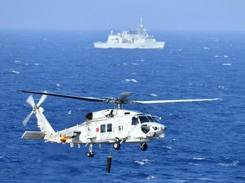 日本联手加拿大在西太军演,日本准航母出云号领衔参加