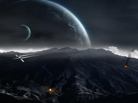 《钢铁苍穹》难以变成现实吗?为什么战斗机无法进太空?缺少空气