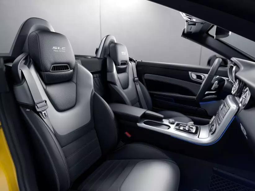 SLC车型的落幕之作,奔驰SLC 260 瑾瑜典藏版上市,售价50.88万