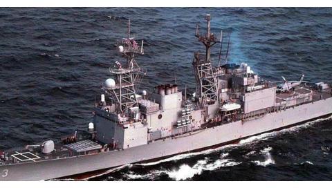 """红色重剑,""""现代""""级导弹驱逐舰,侧重防空与反舰的""""专用舰"""""""