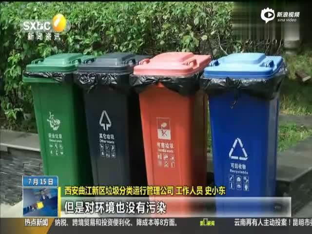 小垃圾桶里的大学问 红灰蓝绿四类垃圾桶记者带您划重点