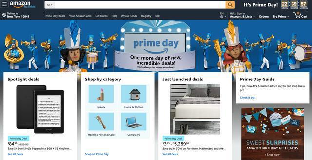 薅羊毛时间!亚马逊开启Prime会员日:苹果产品疯狂促销
