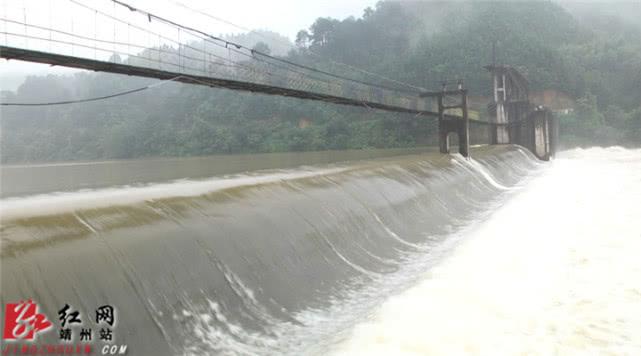 靖州:马鞍洞电站开闸泄洪 保障城区安全度汛