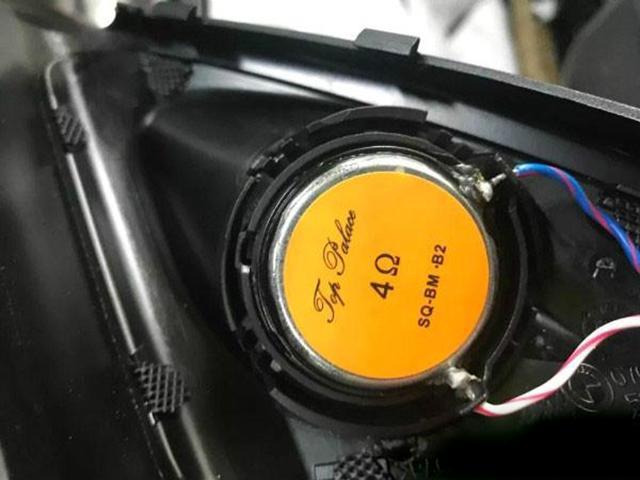 台州慧声宝马7系汽车音响改装极品殿堂,独特的改装风格