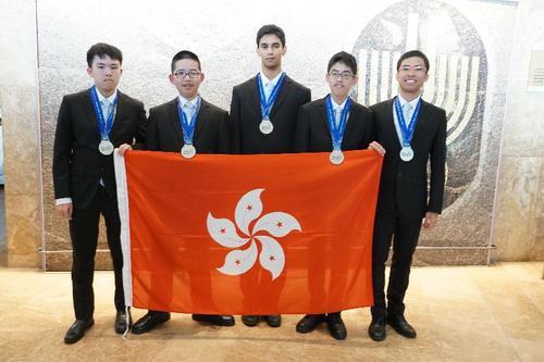 香港学生夺5枚物理奥林匹克银牌 港教育局长祝贺